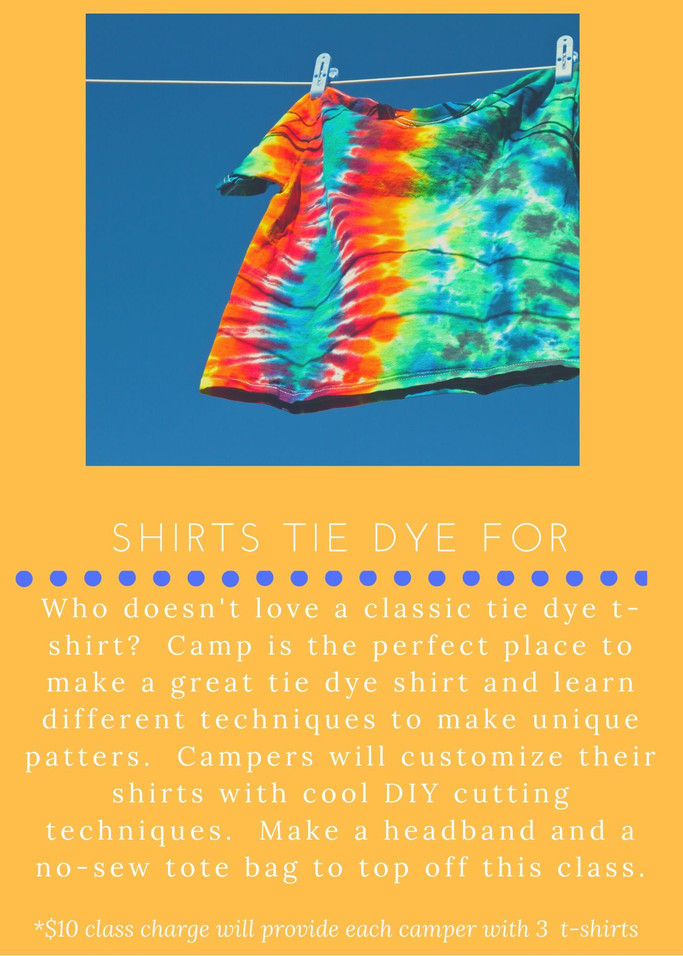 Shirts Tie Dye For