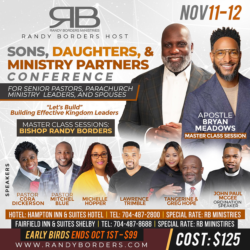 Sons, Daughters, and Partners Conference