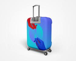 blu_Travel case