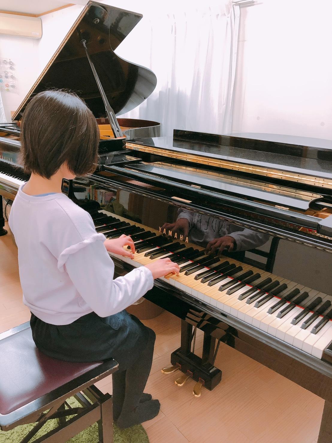 下関市ピアノ教室レッスン室