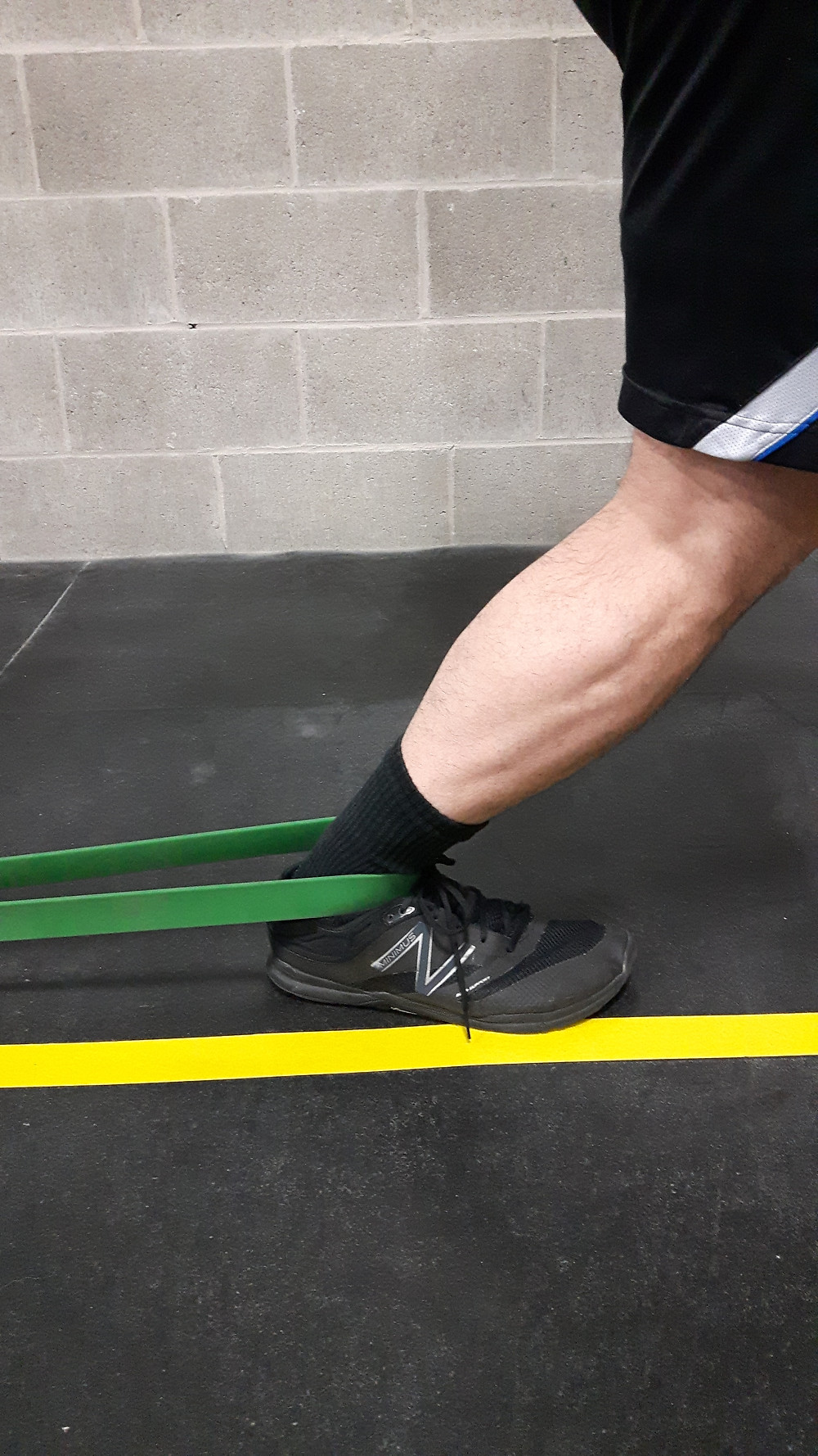 1. Banded ankle lunge