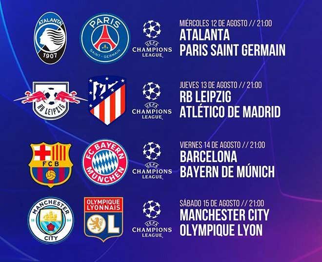 4 cặp đấu tại tứ kết Champions League |JP88