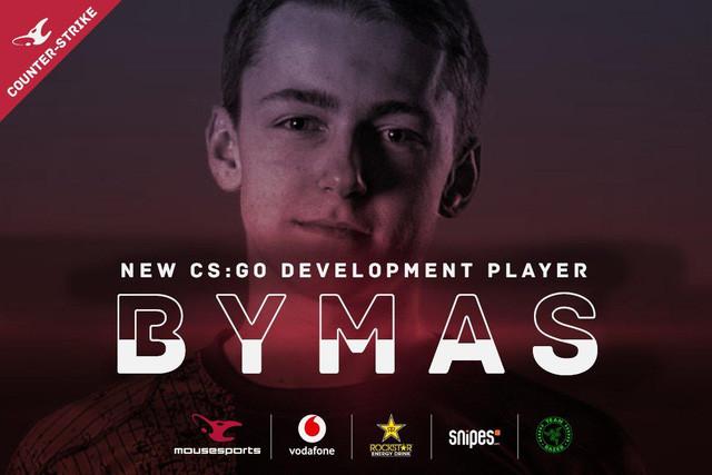 Tài năng trẻ Bymas là thành viên mới nhất của Mousesports