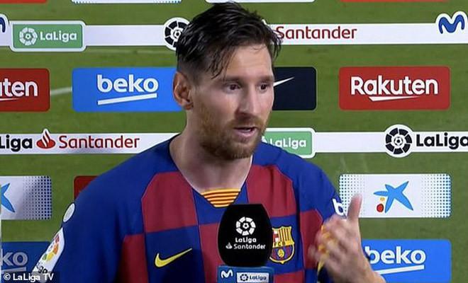 """Messi muốn các cầu thủ Barcelona """"thay đổi ngay lập tức""""  JP88"""