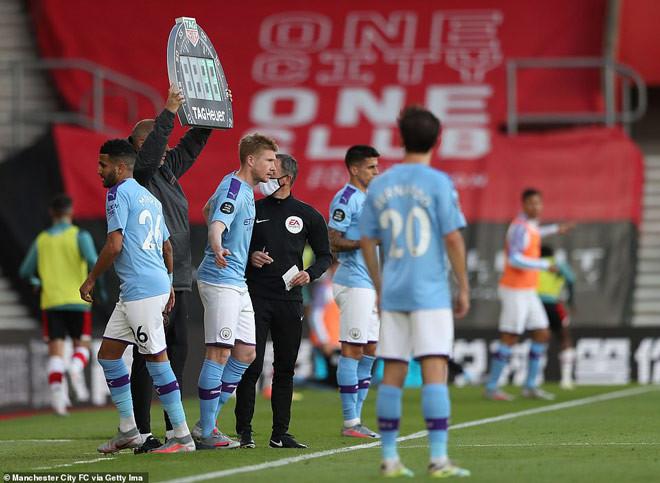 Kevin De Bruyne vào sân cũng không thể giúp Man City tránh khỏi thất bại |JP88