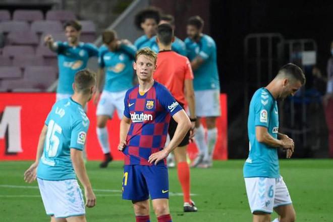 Barcelona để thua Osasuna trong trận lần ra sân gần nhất  JP88