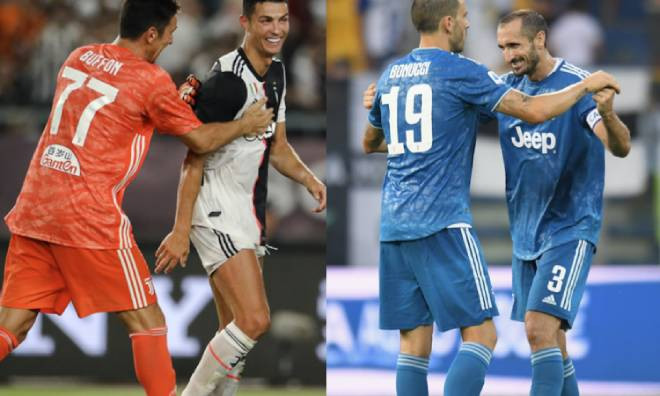 Juventus vẫn còn nhiều cầu thủ cao tuổi trong đội hình