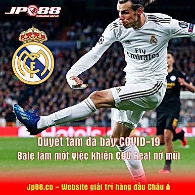 """Quyết tâm """"đá bay"""" COVID-19, Bale làm 1 việc khiến CĐV Real """"nở mũi"""""""