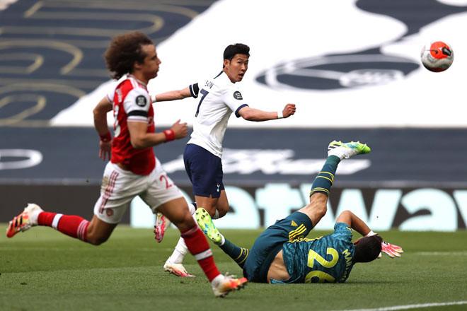 Son Heung Min ghi bàn và kiến tạo giúp Tottenham thắng ngược Arsenal 2-1 |JP88