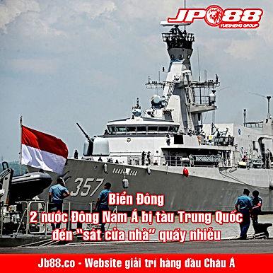 """Biển Đông: 2 nước Đông Nam Á bị tàu Trung Quốc đến """"sát cửa nhà"""" quấy nhiễu"""