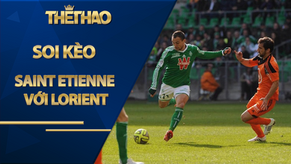 Soi kèo Saint Etienne vs Lorient, 20h00 ngày 30/8, League 1