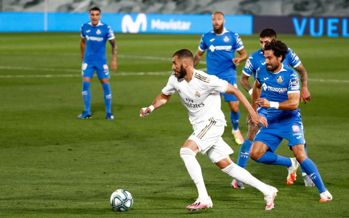 Ramos đem về chiến thắng tối thiểu cho Real Madrid trước Getafe |JP88