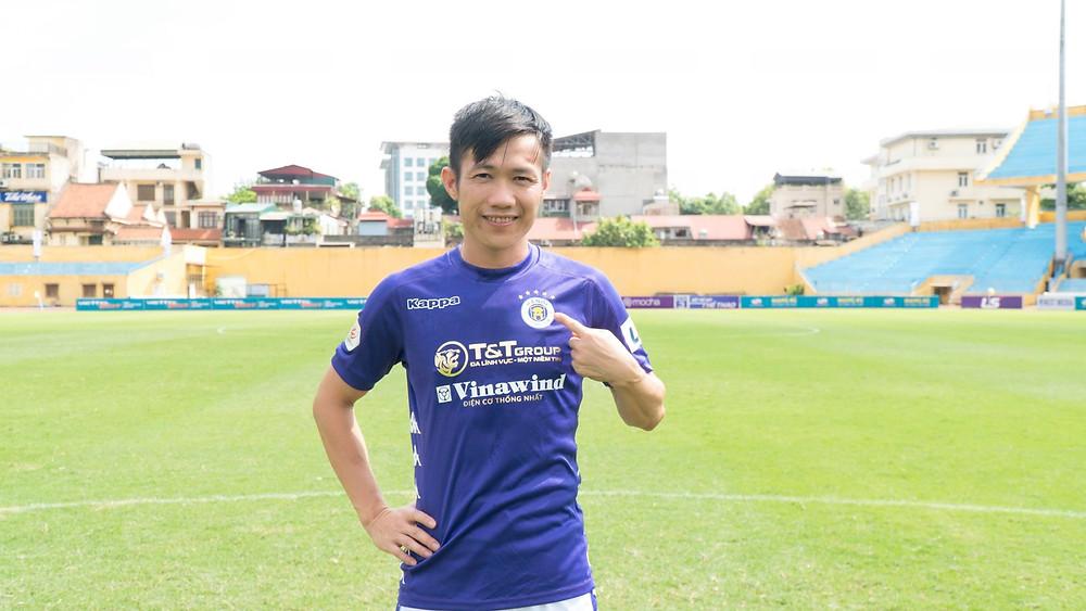 Lê Tấn Tài thi đấu tốt trong màu áo Hà Nội FC