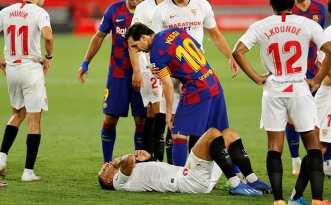 Messi liên tục mất bình tĩnh ở 2 trận đấu gần nhất của Barcelona |JP88