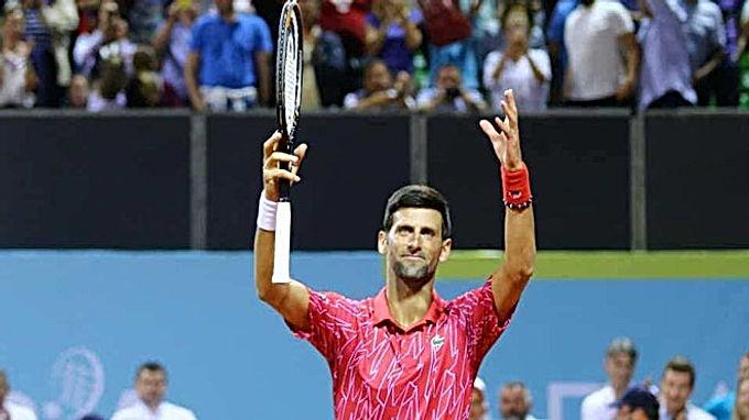 """Djokovic lọt chung kết, hụt cúp """"bát hùng"""" vì """"Tiểu Federer"""" mắc Covid-19"""