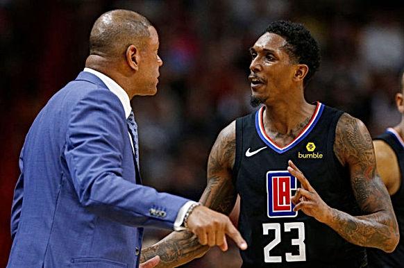 HLV LA Clippers thất vọng với hành vi vô trách nhiệm của Lou Williams