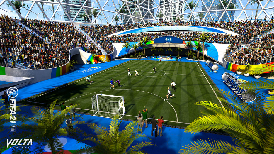 Toàn cảnh chế độ bóng đá đường phố cực đỉnh trong FIFA 21