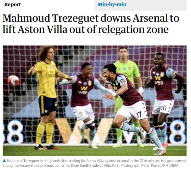 Báo chí Anh chỉ trích thậm tệ phong độ của hàng thủ Arsenal  JP88