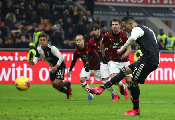 Ronaldo là người ghi bàn quyết định cho Juventus trong trận lượt đi  JP88