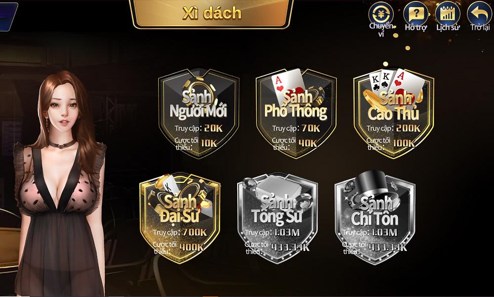 Trải nghiệm blackjack online tại ST666