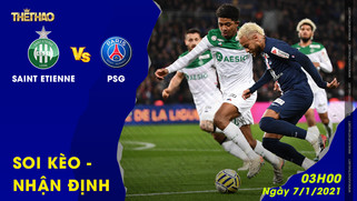 Nhận định - soi kèo Saint Etienne vs PSG 03h00 ngày 7/1/2021