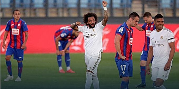 Real thắng giòn giã lập kỷ lục ấn tượng: Zidane bất ngờ bực tức học trò