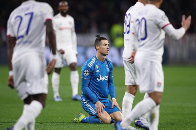 Ronaldo và Juventus gặp bất lợi về tỷ số sau trận lượt đi đối đầu Lyon |JP88