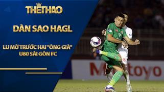 """Dàn SAO HAGL lu mờ trước hai """"ông già"""" tổng gần 80 tuổi của Sài Gòn FC"""