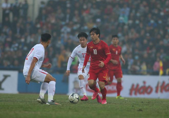 HLV Park Hang Seo không đề cao kết quả trận đấu giữa ĐT Việt Nam và U22 Việt Nam