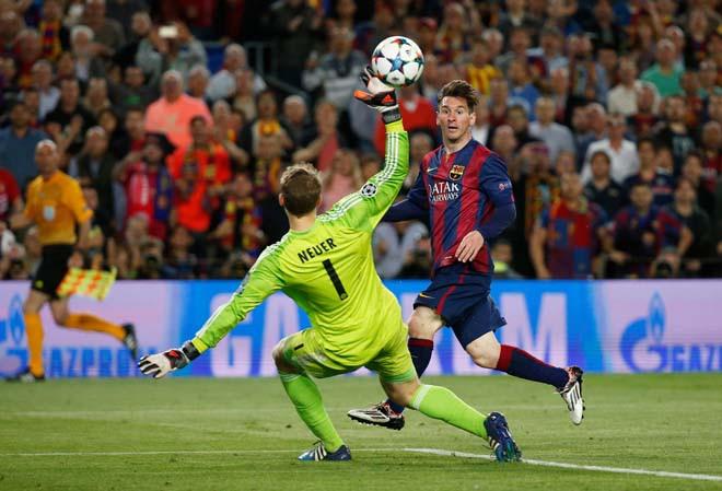 Messi từng tỏa sáng trước Bayern năm 2015 |JP88