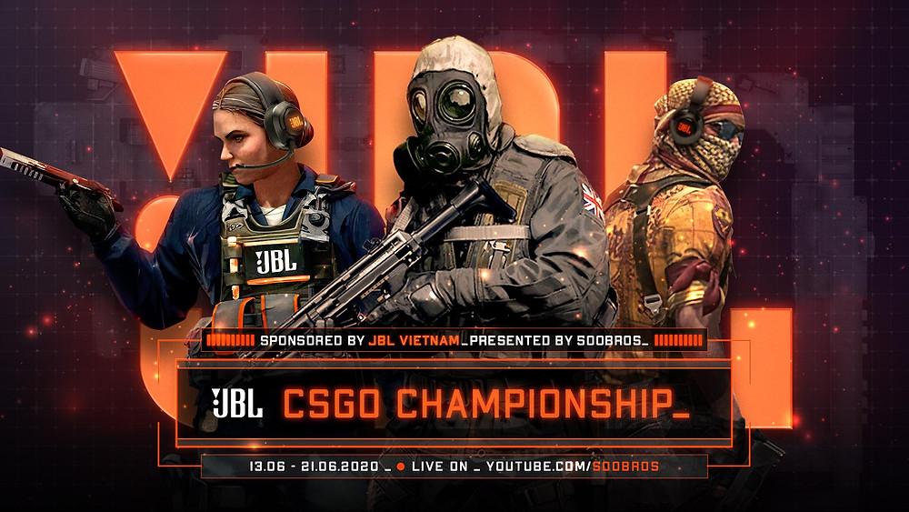 Giải đấu JBL CS:GO Championship chính thức tổ chức |JP88