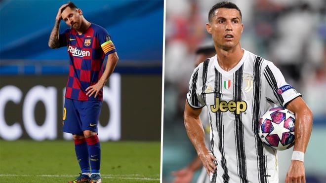 Messi và Ronaldo đều bị loại trước vòng bán kết Champions League