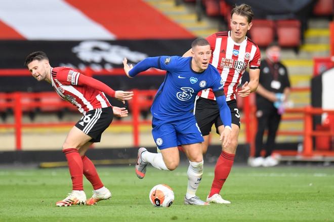 Chelsea đã để thua 0-3 trước Sheffield United  JP88