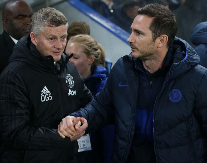 HLV Solskjaer đang nhỉnh hơn đồng nghiệp Lampard ở đối đầu |JP88