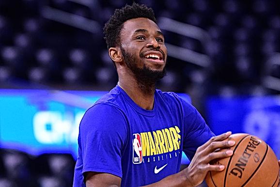 NBA: Golden State Warriors sẽ để Andrew Wiggins đảm nhiệm vị trí tiền phong phụ chính thức của đội b