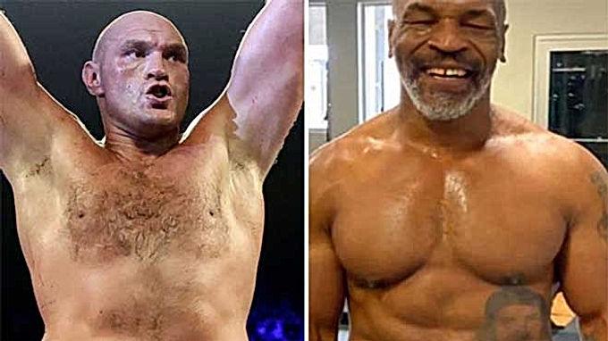 Mike Tyson gây sốc không đấu Holyfield, thách Tyson Fury chiến luôn