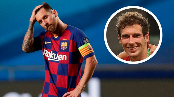 """Leon Goretzka (ảnh nhỏ) hả hê khi cùng """"Hùm xám"""" vùi dập thần tượng Messi và Barca Vua-the-thao"""