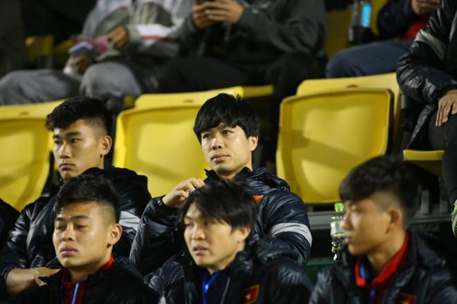 Công Phượng không ra sân ở trận đấu giữa ĐT Việt Nam và U22 Việt Nam cách đây vài ngày