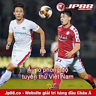 Âu lo phong độ tuyển thủ Việt Nam