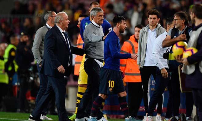 HLV Setien không được lòng các cầu thủ Barcelona |JP88