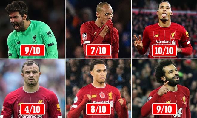 Vô địch Ngoại hạng Anh, các ngôi sao Liverpool được chấm điểm cao |JP88