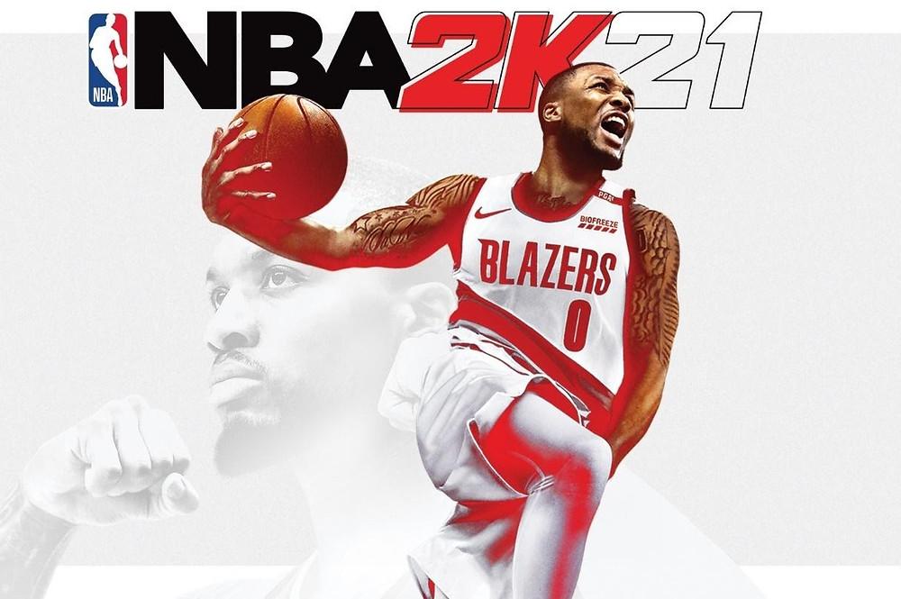 Damian Lillard vừa xuất hiện trên ảnh bìa của NBA 2K, liệu lời nguyền 2K có ám anh?  JP88