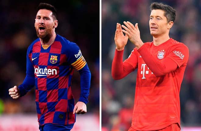 NHM chờ đợi màn so kè giữa Messi và Lewandowski |JP88