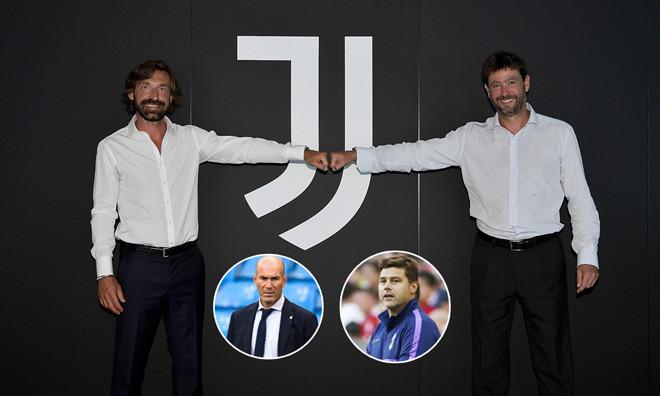 Juventus đã nghĩ tới Zidane và Pochettino trước Pirlo nhưng từ bỏ vì vấn đề tiền lương |vua-the-thao