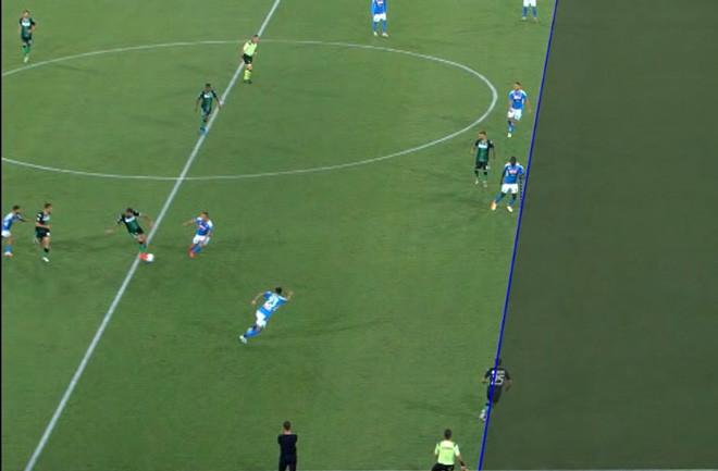 VAR xác nhận Berardi việt vị trong tình huống Caputo không được công nhận bàn thắng  JP88