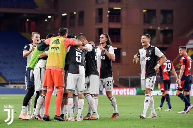Đây đã là pha lập công thứ 24 chỉ sau 25 trận của Ronaldo ở Serie A 2019/20 |JP88