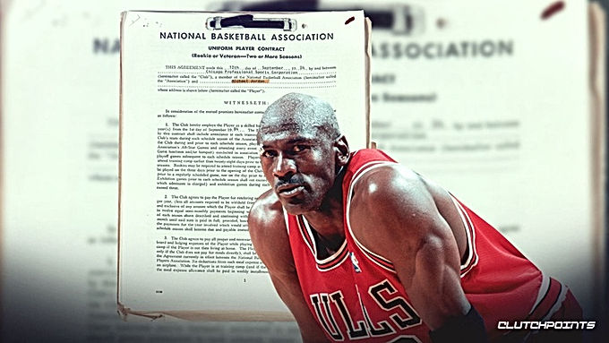 Ngã ngửa với bản hợp đồng copy của Michael Jordan bán mức giá phi lý