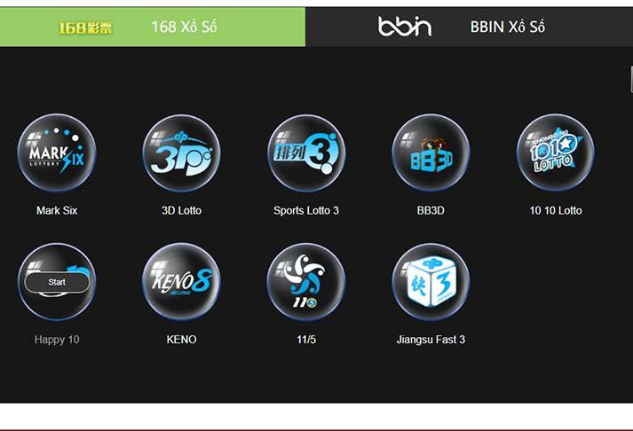 Các dạng Xổ số dành cho người chơi trên JP88. |JP88