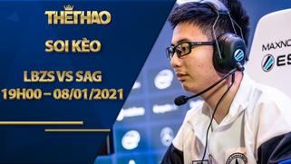 Kèo DOTA2, LBZS vs SAG 2021: Season 1 – China Closed Qualifier