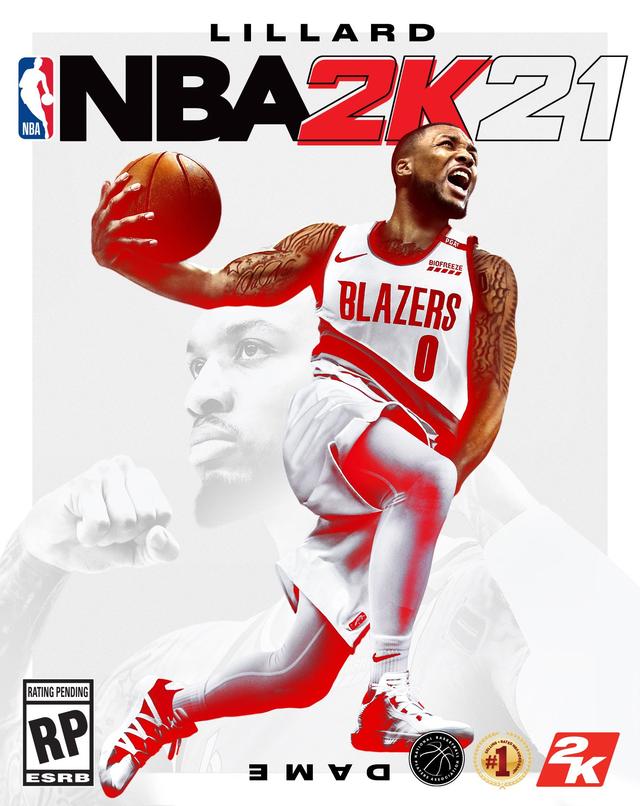 Damian Lillard xuất hiện trên bìa đĩa NBA 2K21 |JP88